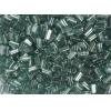 Triangular Beads 10x5mm Triangular Hole Green Luster